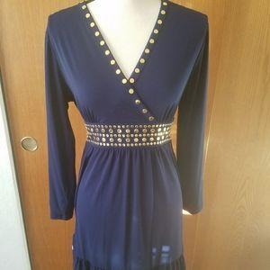 Michael Kors blue dress